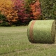 Committed AG   Shurwrap bale in the field